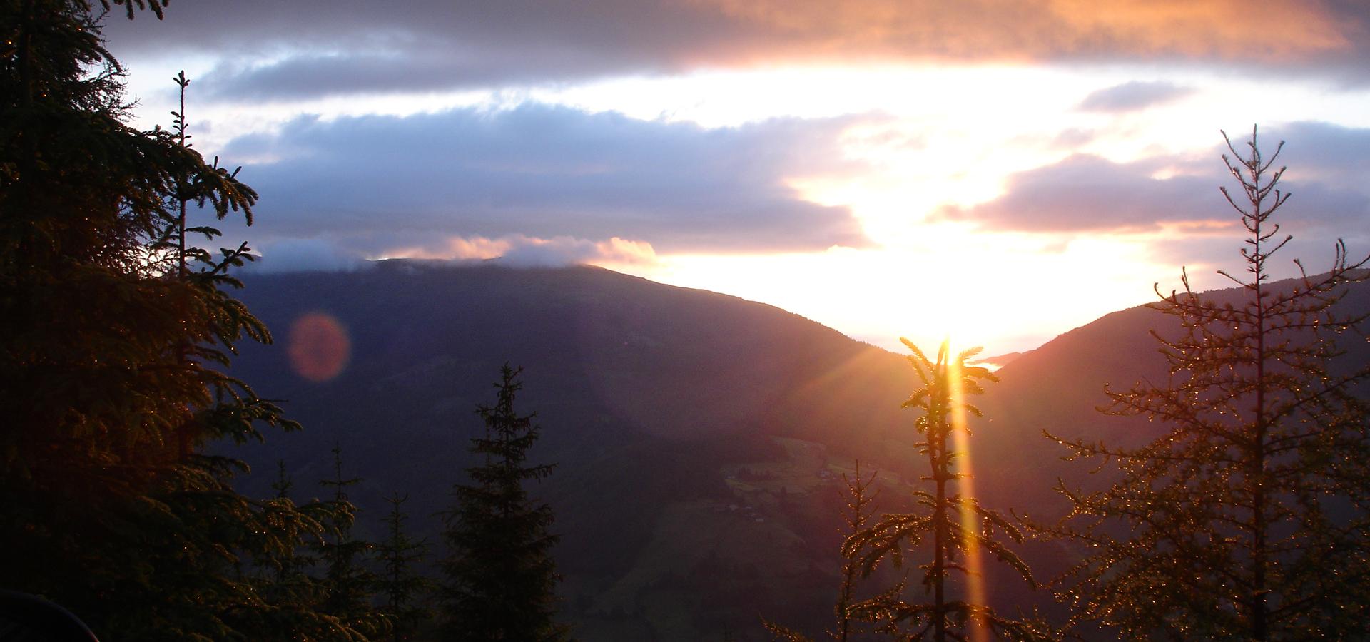 Hosenhütte Sonnenaufgang