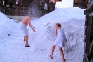 Sauna abkuehlung